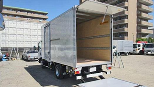 (6MT)アルミバン 標準ロング パワーゲート付 3,000kg