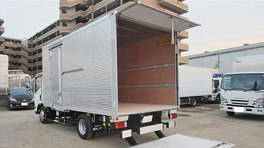 (6MT)アルミバン ワイドロング パワーゲート付 3,000kg