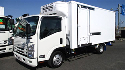 (5MT)低温冷凍車 ワイドロング パワーゲート付 2000kg