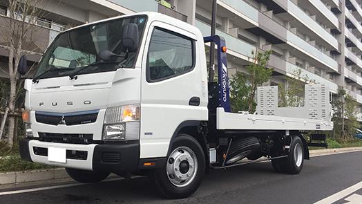 三菱ふそう キャンター 積載車 極東フラトップZERO 積載3,300kg