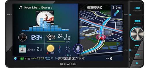 ケンウッド MDV-Z702W 彩速ナビ