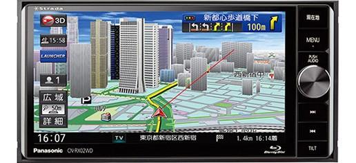 パナソニック CN-RX02WD ストラーダ 美優Navi