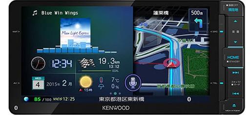ケンウッド MDV-X702W 彩速ナビ