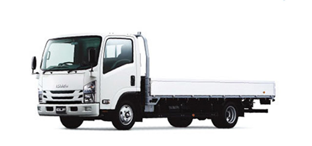 いすゞ エルフ(6MT) 平ボディ ワイドロング 積載3,000kg