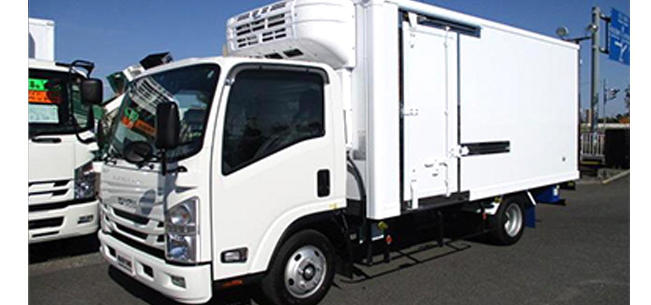 いすゞ エルフ(5MT)冷蔵冷凍車 ワイドロング 3,000kg