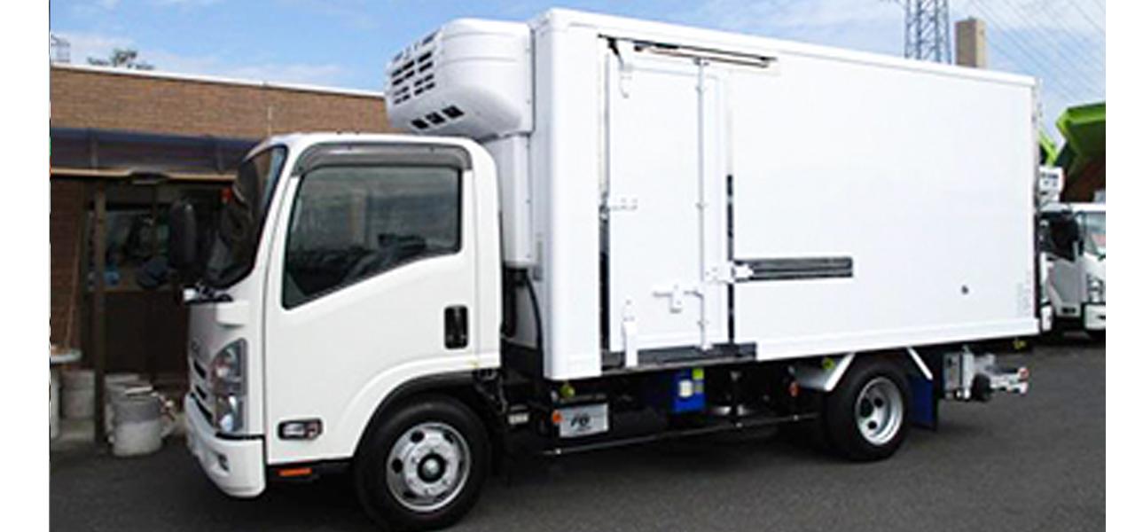 いすゞ エルフ 冷蔵冷凍車 ワイドロング パワーゲート付 積載2,000kg