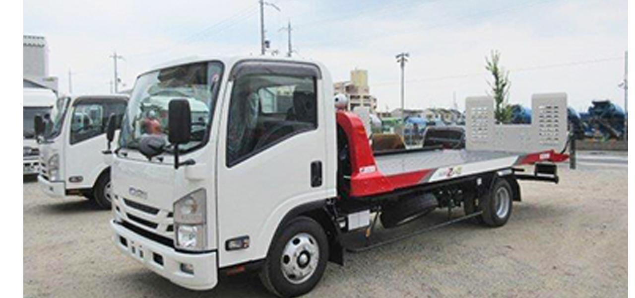 いすゞ エルフ 積載車 ワイド超ロング 積載2,850kg 6MT