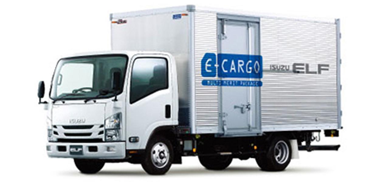 いすゞ エルフ アルミバン ワイドロング 積載2,000kg (6MT)