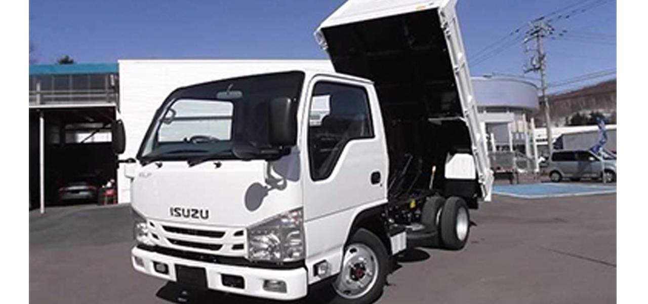いすゞ エルフ 強化ダンプ 積載3,000kg 6MT