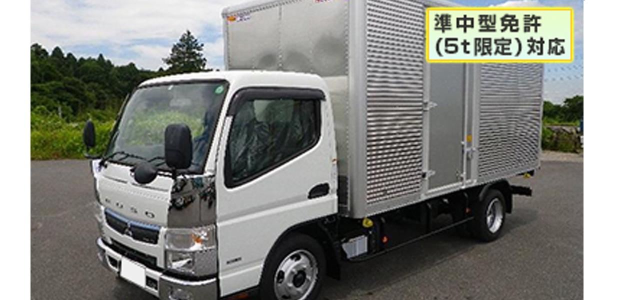 三菱ふそう キャンター アルミバン 標準ロング 積載2.000kg (5MT)