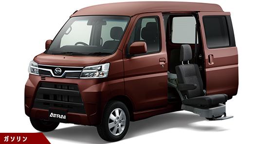 福祉車両 フレンドシップシリーズ リヤシートリフト SA III(4DAT)